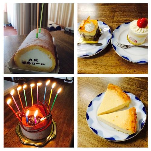 2015年7月 院長&万崎 誕生日ケーキ.JPG